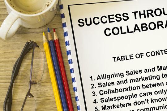 Success through collaboration