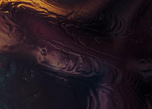 Liquid graphic texture