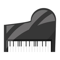 Classic piano instrument