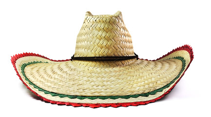 Isolated Mexican Sombrero