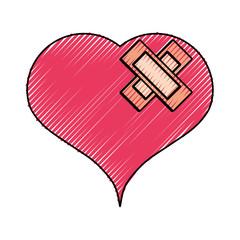 Heart medical symbol,