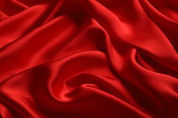 赤シルクドレープ/背景素材