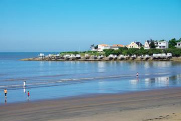 Strand von Royan Aquitanien