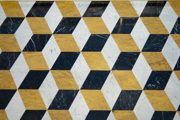 Cube pattern texture.