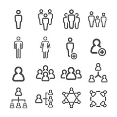 people line icon