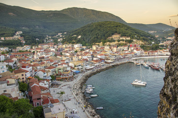 Parga, Preveza, Epirus, Greece - Ionian Sea