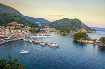 Parga port - Ionian Sea - Greece