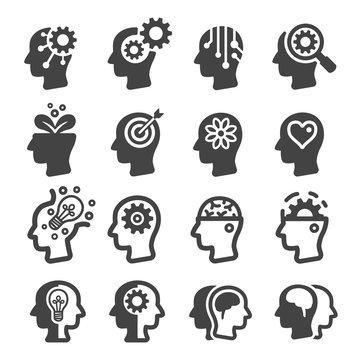 thinking,mind icon