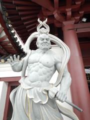 シンガポールの仁王像