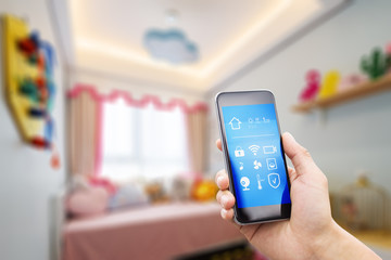 mobile phone in smart home