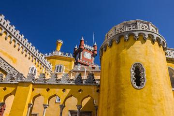 Fotomurales - Portugal, Pena National Palace. Palacio Nacional da Pena, Sintra