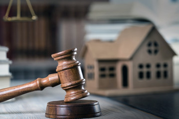 Home property auction law theme