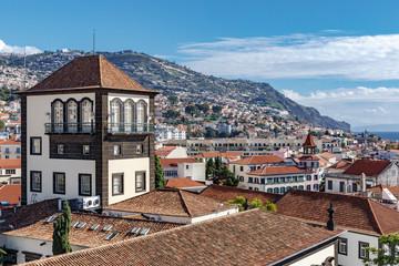 Funchal - Das historische Zentrum Sé Fototapete