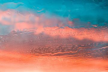 Liquid texture abstract