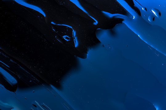 Close-up of liquid texture abstract