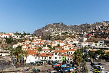 Camara de Lobos - traditional fishing village, situated five kilometres from Funchal on Madeira. Portugal