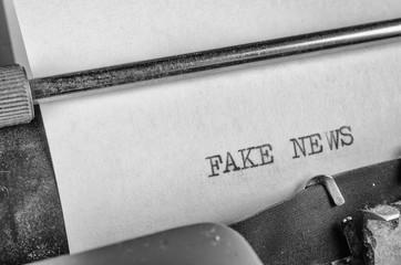 Fake news, a press freedom concept