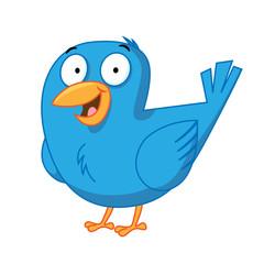 Chipper Blue Bird