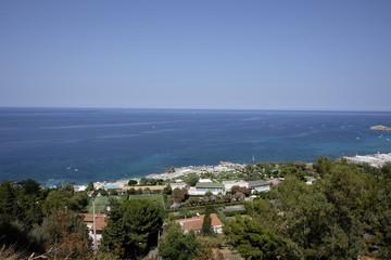 The beach of mondello