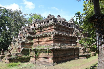 Cambodia . Phimeanakas Temple . Siem Reap Province . Siem Reap City .
