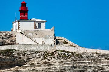 Bonifacio phare de La Madonetta