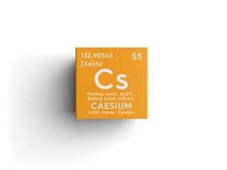 Search photos caesium caesium cesium alkali metals chemical element of mendeleevs periodic table caesium in urtaz Gallery