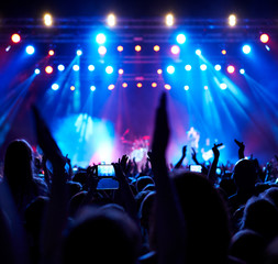 Stage, concert light.