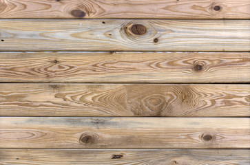 Wood texture, horizontal wooden boards