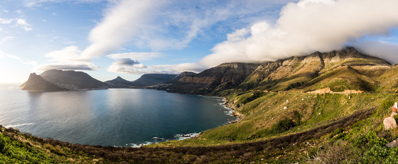 Chapman's Peak Drive and Hout Bay, Cape Peninsula, Western Cape, South Africa, Africa