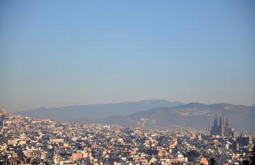 Barcelona_skyline view