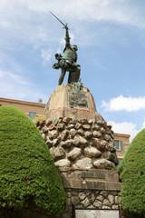 Statue de Sampiero Corso à Bastelica