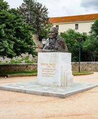Buste de Pascal Paoli à Ajaccio