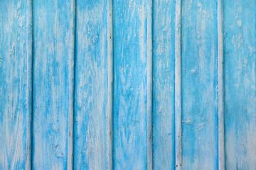 Blue wooden texture