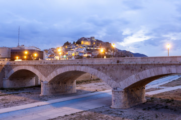 Wall Mural - Historic stone bridge in Lorca, Spain