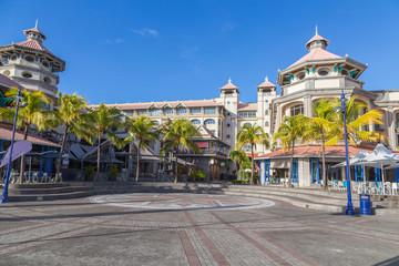port louis waterfront zentrum hauptstadt von mauritius