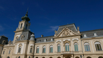 The palace in Keszthely on Lake Balaton - Baroque pearl and one of the most beautiful sights of the area.