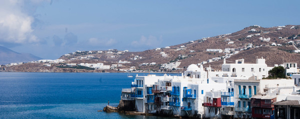 Mykonos Greece Landscape