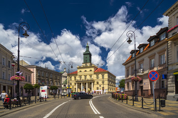 The new Town Hall in Lublin