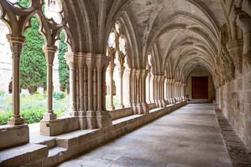 Galleries of Poblet Monastery