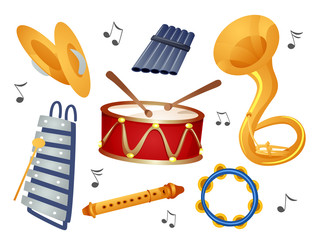 Instruments Elements Illustration