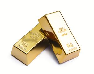 Two gold ingot