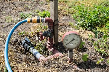 Manometer, Barometer, Pressure gauge, vacuum gauge, Air Gauge, Stem Gauge an instrument measuring atmospheric pressure