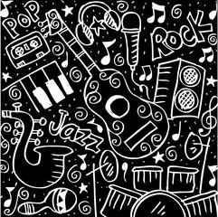 Music Doodle background