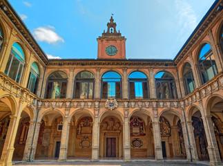 Archiginnasio Bologna Facade