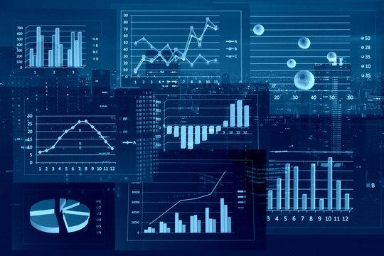 ビジネスイメージ グラフ
