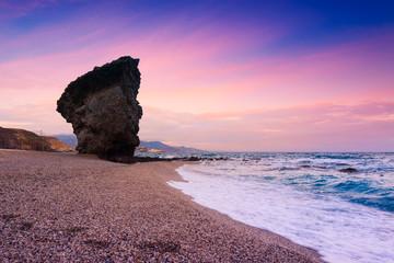 Playa de Los Muertos in Spain
