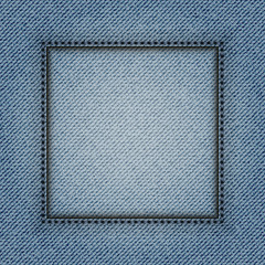 Jeans square frame