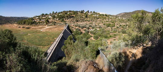 Dry Dam Panorama