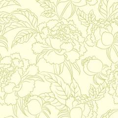 peny seamless vintage pattern
