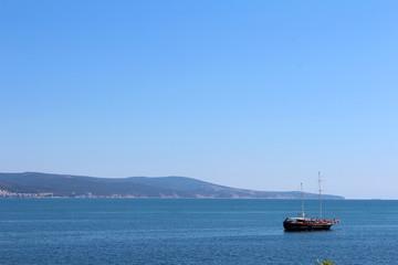 view of Sunny Beach, Nessebar, Bulgaria